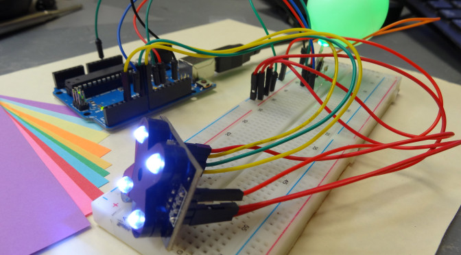 LESSON 15: Super Cool Arduino Color Sensor Project