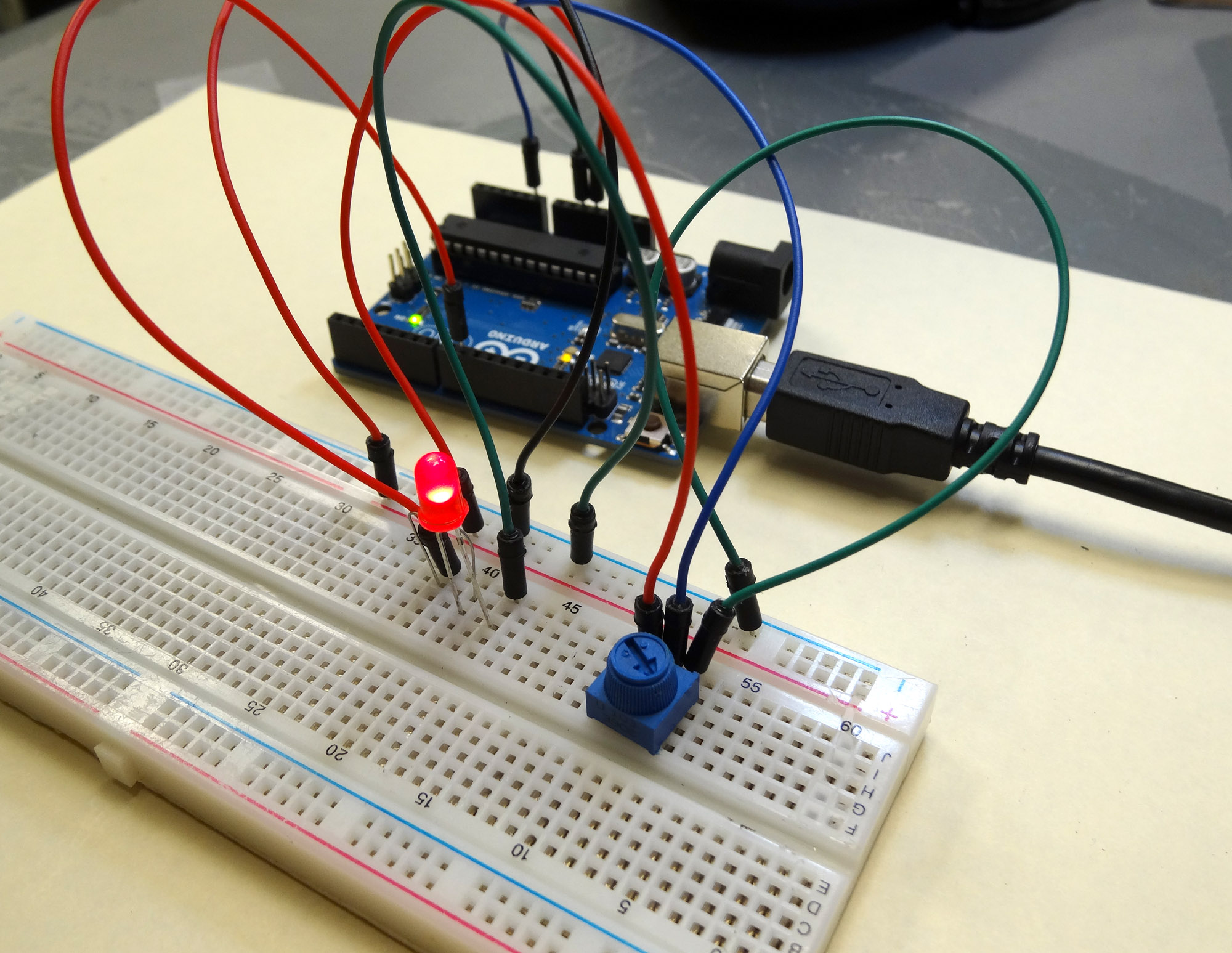 Arduino Dimmable LED