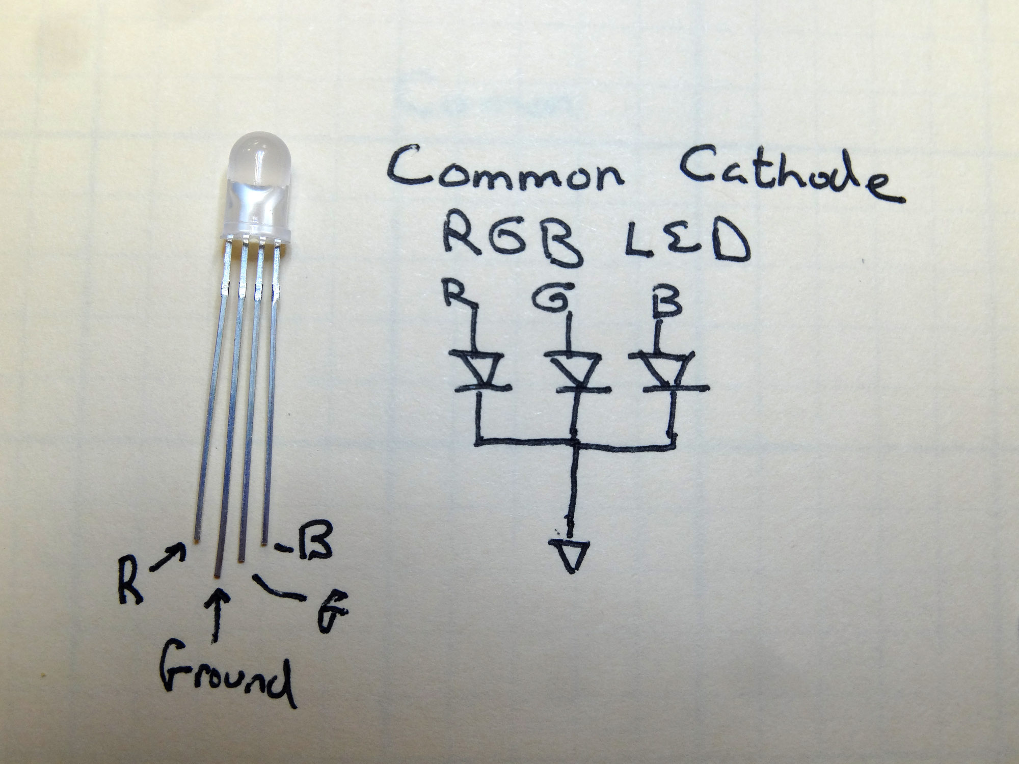 Common Cathode Rgb Led Arduino Circuit Technology Tutorials For Simple To Control From An