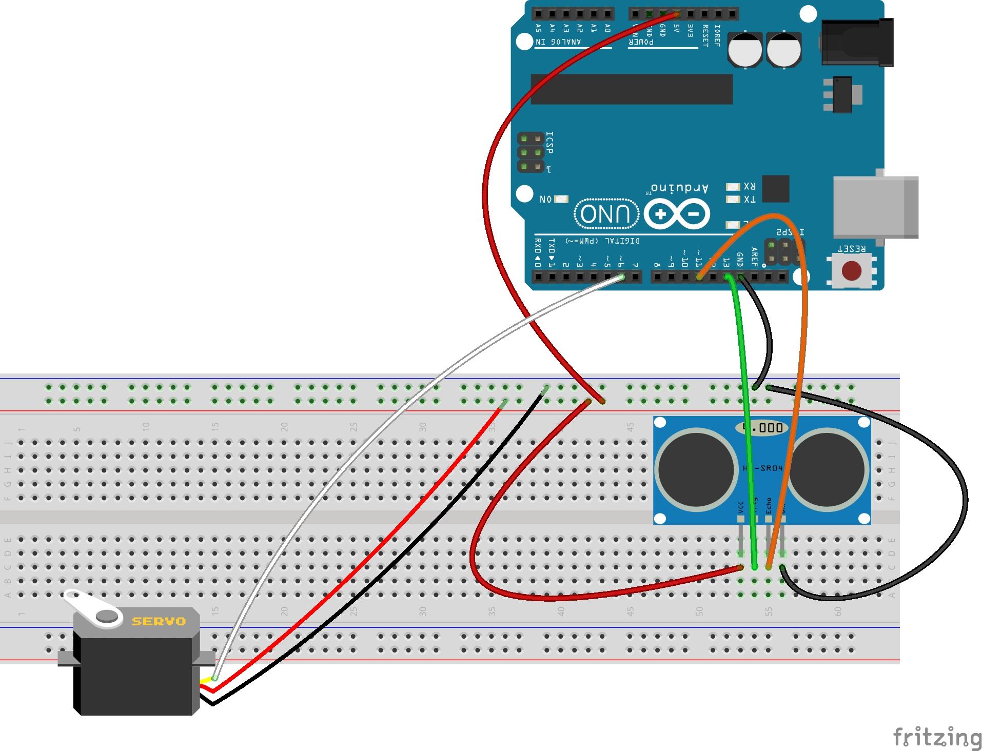 Ardunio-distance-sensor