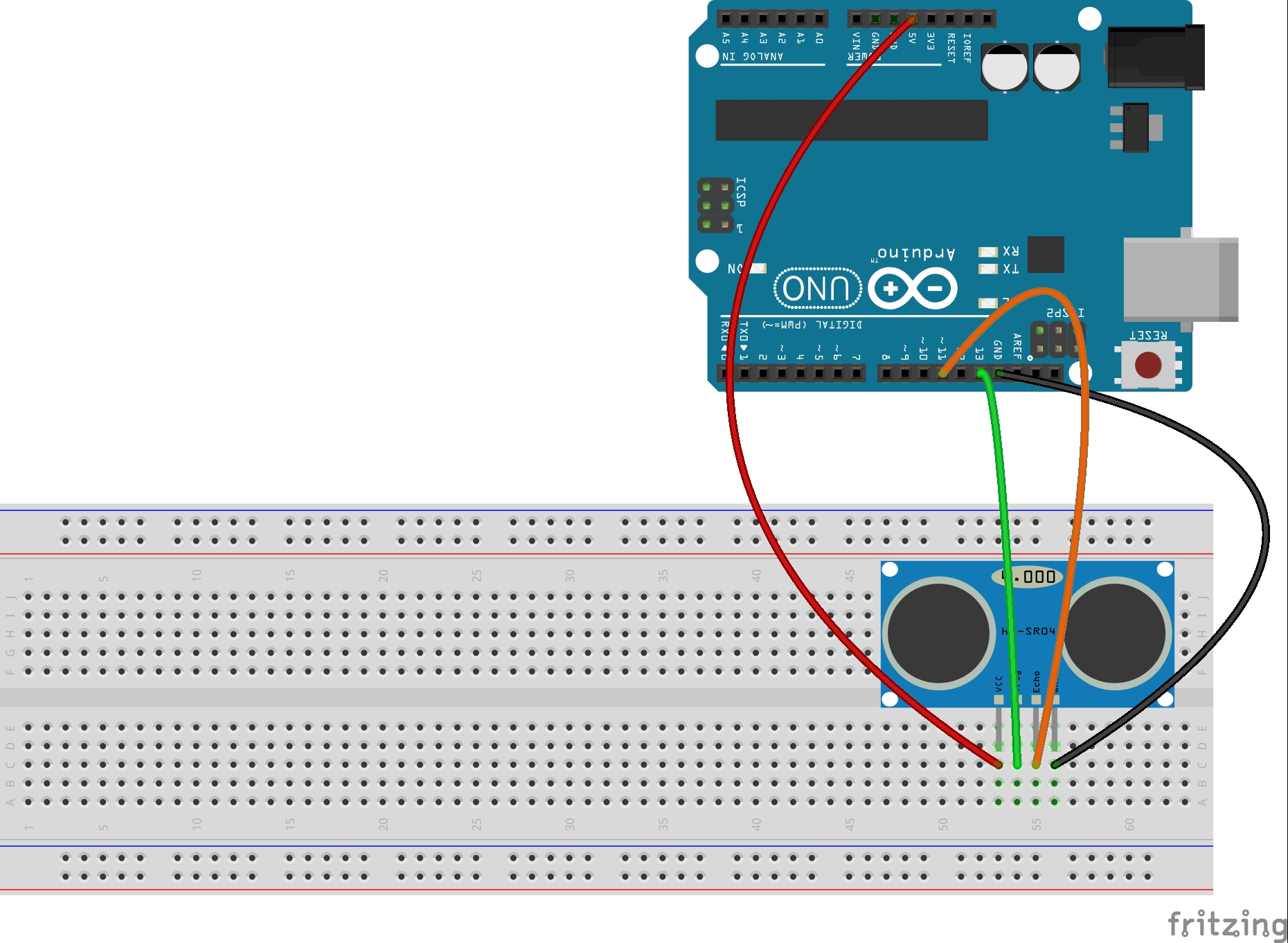 Ultrasonic Sensor Circuit