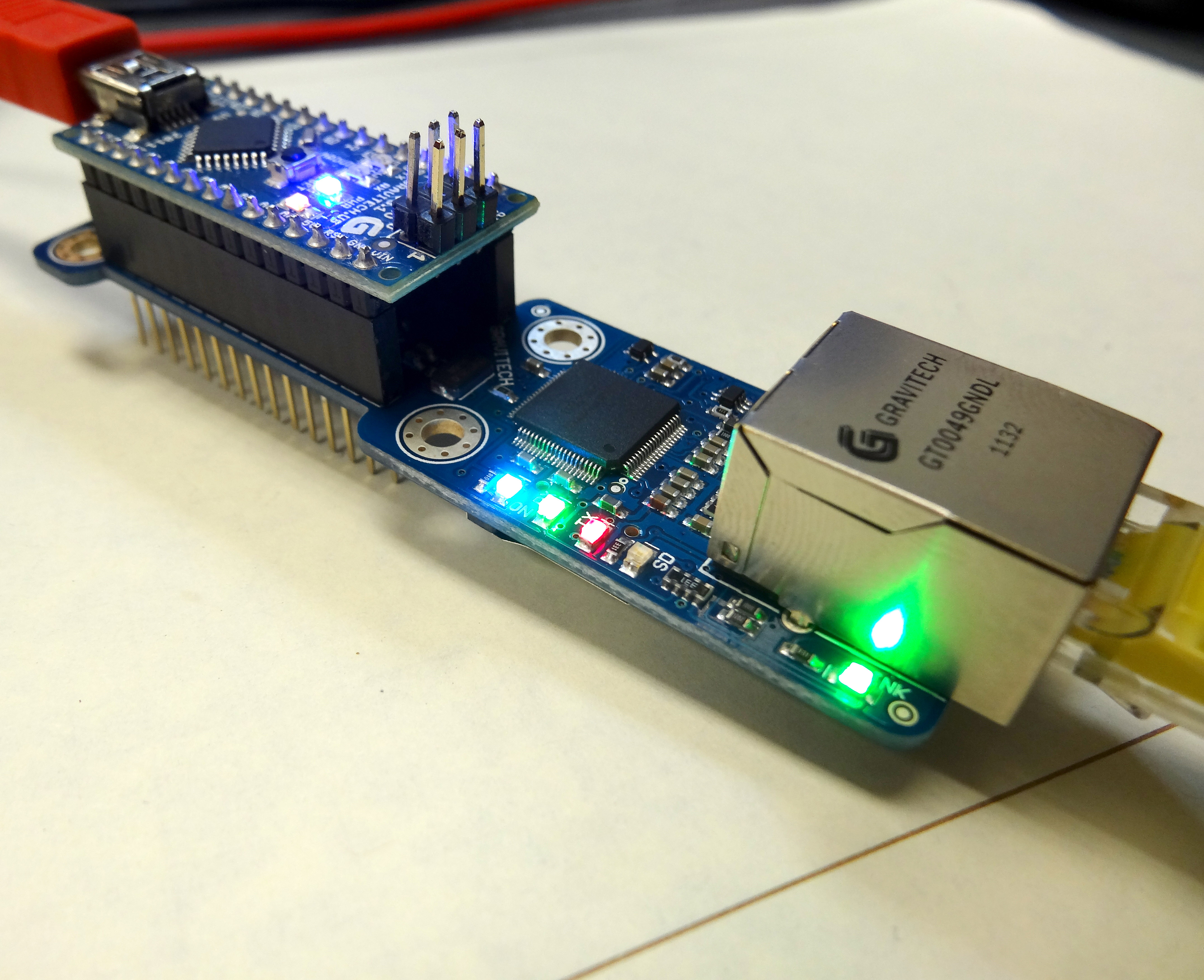 Arduino and Ethernet Shield